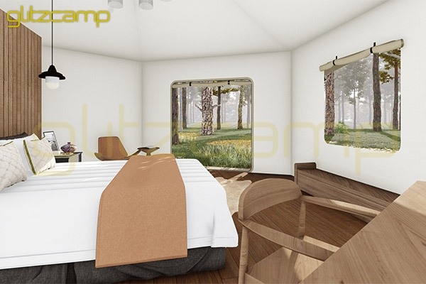 mono peak tent hotel-deluxe lodge tent house for couple-luxury lodges glamping for sale-glitzcamp (2)