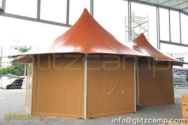 safari lodge tent-safari glamping tents for sale - luxury glamping accommodation - tent house for 2 - 4 people - outdoor glamping experience (19)