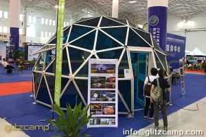 project dome-blue glass dome house-al alloy space dome tent-glass dome tent hotel for luxury resort-glitzcamp glamping dome (1)