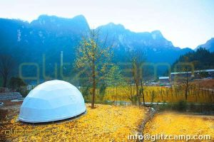glamping dome tents hotel and lounge resorts - special eco living accommodation - luxury geodesic dome igloo for sale in UK America Australia India German France - glamping facilities supplier