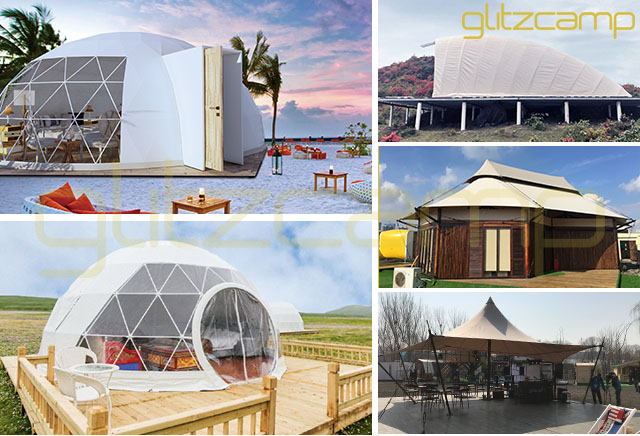 Glamping Tents, Your 5-Star Mobile Tents Hotel - Resort