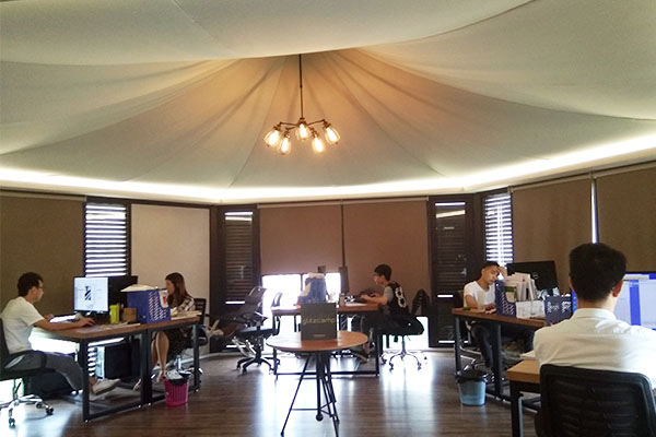 about us - glitzcamp office