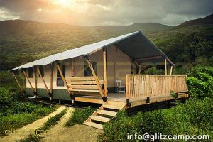 african style safari tent-luxury safari lodge tent hotel-glamping safari lodges for sale-deluxe safari tent lodge price-glitzcamp (1)