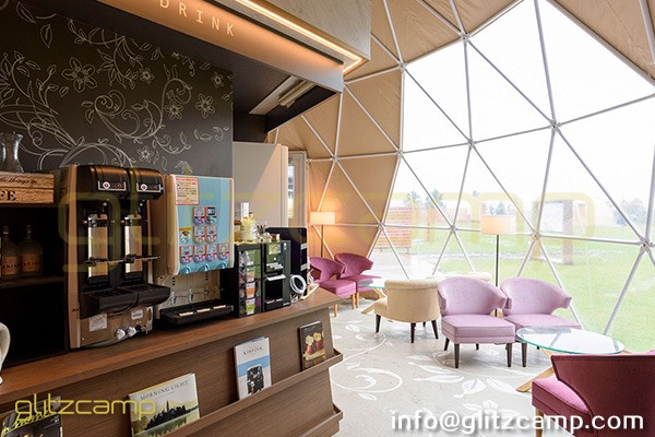 glamping resort on mountains-luxury tent hotels in Japan-glamping geodesic dome tent-eco living geodome tents (15)