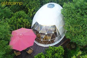 Pearl Oval Dome-oval tent hotel for jungle resort-ellipse dome house for sale-eco living domes in forest-glitzcamp (1)