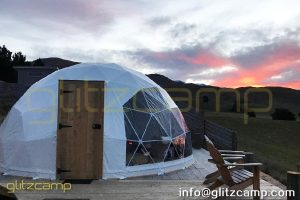 geodesic dome glamping in valley-geodome tent for luxury resorts-eco living domes for valley camp-glamping dome tents sale nz usa uk spain india (7)