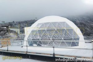 geodesic dome kit with insulated layer-eco living domes for highland camps-dia.6m glamping dome tent for plateau resorts-glitzcamp (4)