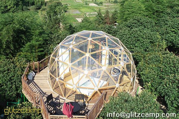 Glass Dome Hotel For 2 Persons Glamping Glass Domes In