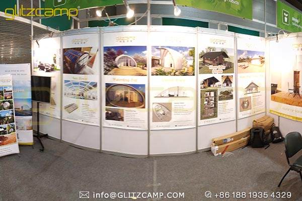 glitzcamp glamping tent at the 125th canton fair (1)