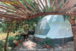 igloo dome tent for for tropical resorts-geodesic dome shelters for homestays rental business-luxury dome house for backyard lounge-glitzcamp (1)