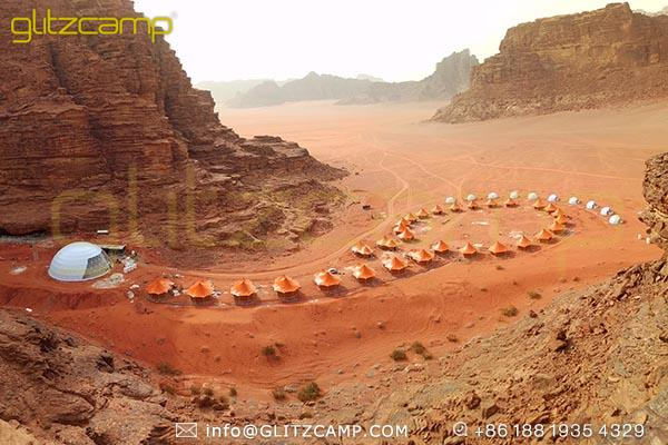deluxe glamping tents in luxury desert resort-luxury tent structure for desert camp-eco tent in desert campsites-glitzcamp (5)