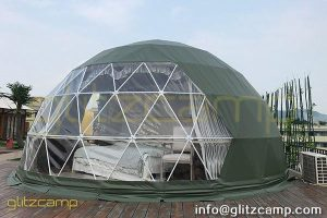 green dome tent house for eco resorts-colorful dome igloo for glamping campsites-glamping dome hotel for all weather tents-glitzcamp (1)