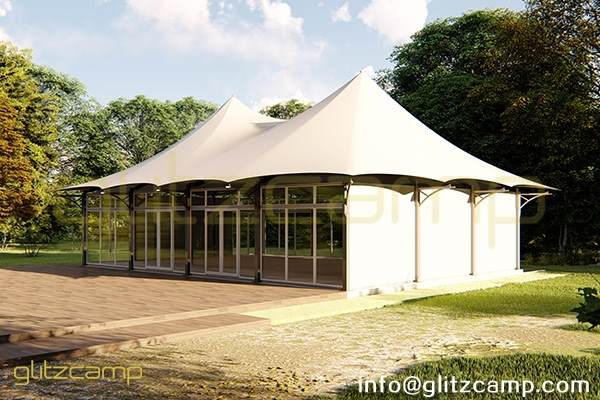 twin peak banquet tent lodge-outdoor event tent for dining tent canopy-large catering lodge tents for sale-luxury tent structure for public space design-glitzcamp glamping tent (2)