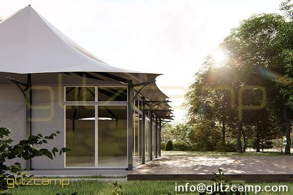 twin peak banquet tent lodge-outdoor event tent for dining tent canopy-large catering lodge tents for sale-luxury tent structure for public space design-glitzcamp glamping tent (4)