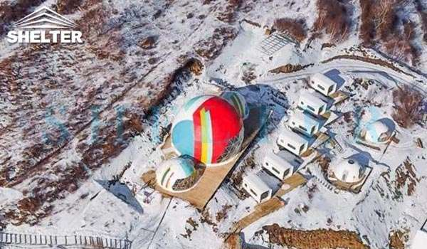 connectable event domes for ski resort-all seasons dome marquee for dining tent-projection dome tents for outdoor cinema-connecting geodesic dome tent design-geo dome event tent for sale-glitzcamp (2)