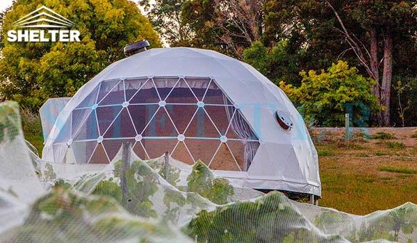 glamping igloo tent for eco glamping resorts-geodesic dome house kits for luxury camping-6m geodome tent hotel for sale-glamping dome tent cost-glitzcamp (6)