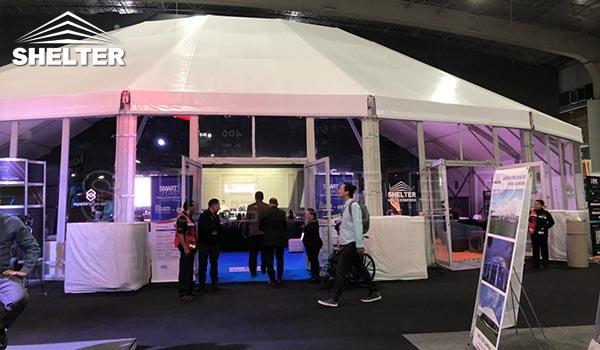 shelter tent structures at event industry show-EIS 2020 (1)
