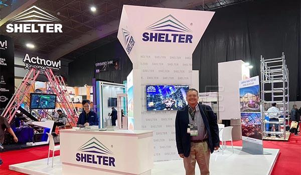 shelter tent structures at event industry show-EIS 2020 (7)