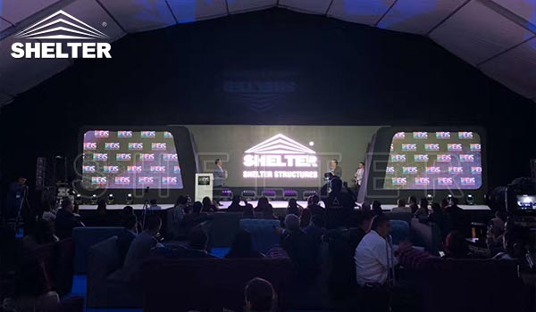 shelter tent structures at event industry show-EIS 2020 (8)