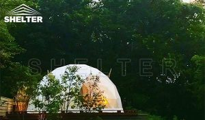 2020.6 japan Reiwa Golf Resort 6m Geodesic Dome Tent Dome Hotel 9