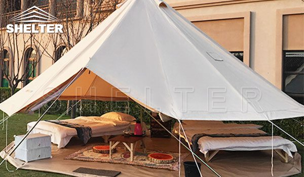 canvas bell tent for sales