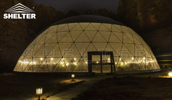 catering dome - restaurant dome - 25m dome