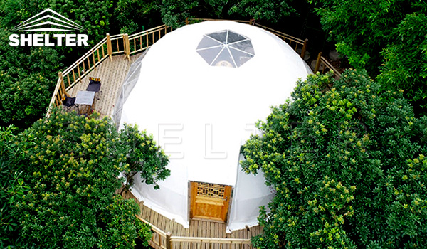 Glamping dome - dome tent sales -glamping tent manufacture