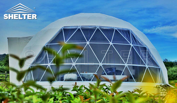 dome hotel - resort tent - luxury glmaping tent