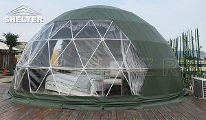 dome tent - glamping dome - 6m dome