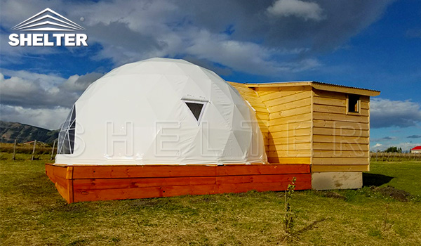 Living dome - dwell dome -dome hotel manufacture