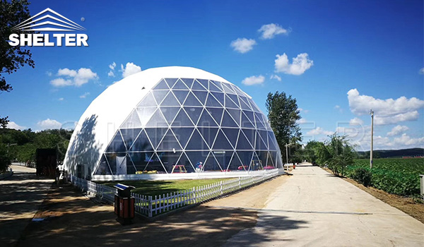 large dome - event dome - projection dome - restaurant dome