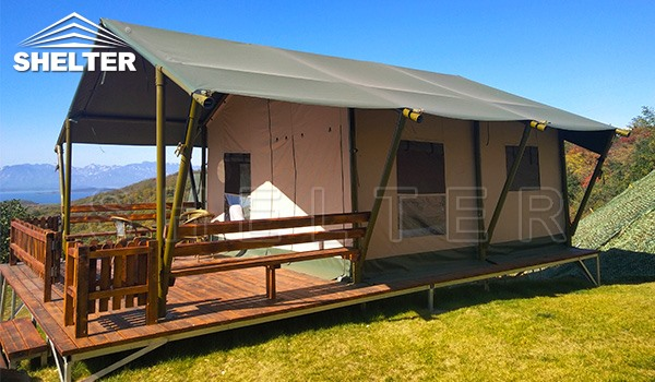 safari tent for sale - glamping tent - luxury tent