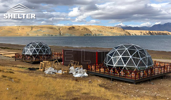 glass dome - luxury glamping dome for sales - dome tent (5)