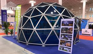 glass dome - transparent dome - dome tent - glamping dome (3)