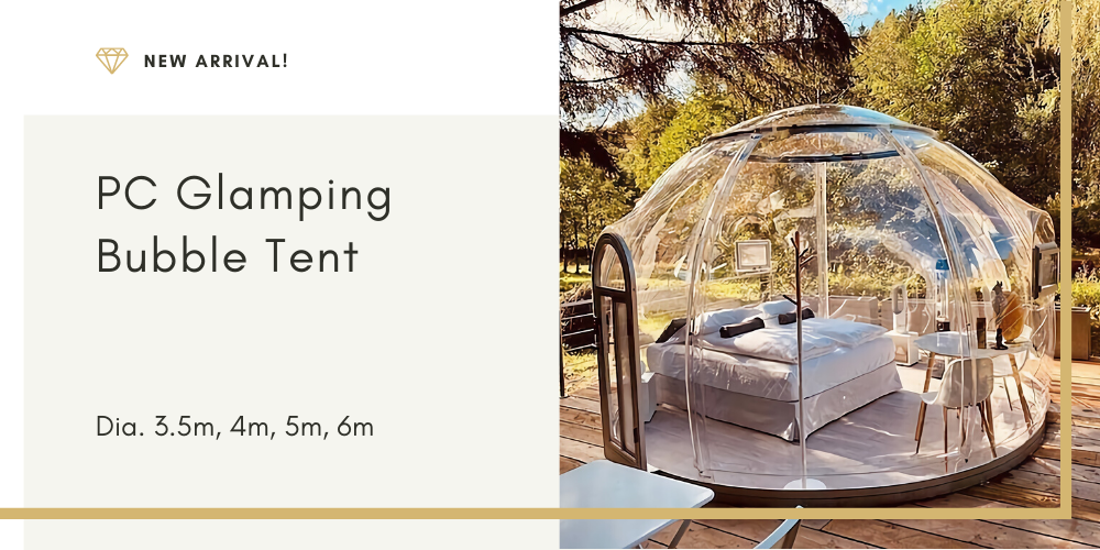 glamping luxury tent for sales - pc bubble tent - dome tent