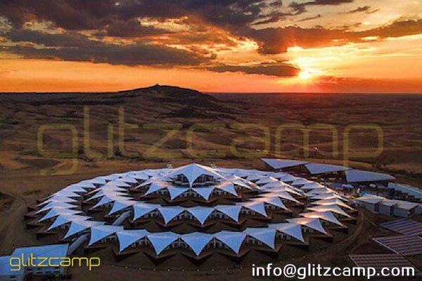 glamping resorts-glamour camping tents construction-world most luxury desert resort mongolia desert tented resort glamping tent campsite-glitzcamp (1)