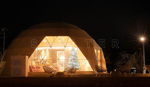 10m dome tent - glamping dome tent for sales -space dome