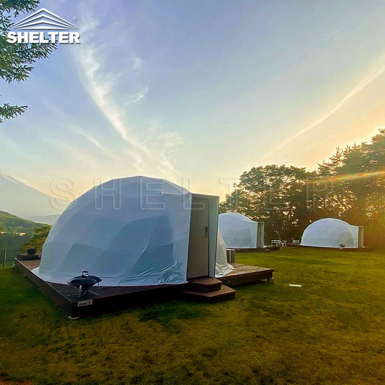 living dome- luxury tent - Shelter glamping dome