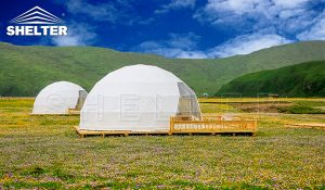 6m dome tent for glamping - dome hotel - resort dome tent