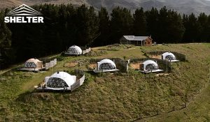 New Zealand Dome - shelter dome tent - glamping dome