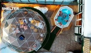 spa dome - transparent dome tent - dome tent for sale