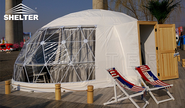 oval dome - glamping tent for sale - luxury tent for glamping