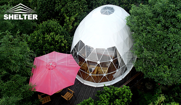 pearl oval dome - dome tent - glamping tent manufacture (5)