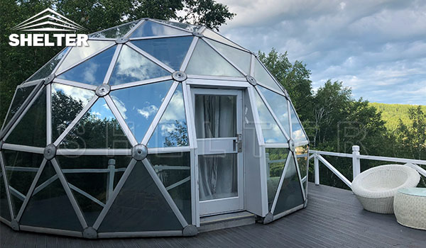 geodesic dome - dome tent - glamping tent (2)