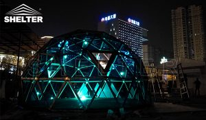 glass dome - PVC dome - glamping dome (2)
