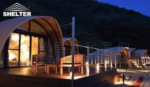 luxury glamping tent - glamping tent for sales - cocoon tent - glamping tent (3)