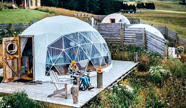 glamping dome tent for sales in nz - glamping dome tent - four seasons glamping tent