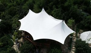 multi-peak lodge tent - glamping tent supplier - luxury camping tent (6)