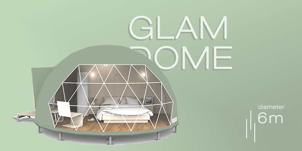 6m dome house-dome home kit - glamping tent for sales