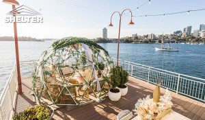 igloo tent - transparent dining dome tent- cafe dome tent for sales (2)